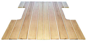 1970 Bed wood, 12 boards