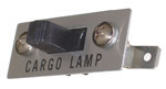 1969 Cargo light switch, with lettering