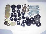 1970 Cab and radiator core support mount kit, urethane