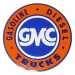 1969 Advertising sales and service decal, GMC