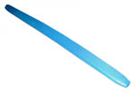 1970 Dash pad, bright blue