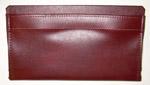 1981 Door panel bag, dark maple (dark reddish-brown)