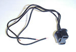 1937 Headlight pigtail 3 prong connection, can be used with LG184 or LG184-12V