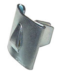 1964 Narrow side moulding clip, push-in