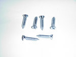 1970 Vent window pillar screw set