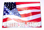 1970 Metal sign, United We Stand