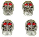 1970 Valve caps, skulls