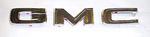 1970 Front hood die cast chrome letters, GMC