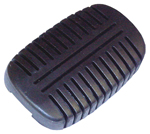 1955 Pedal pad for brake or clutch pedal
