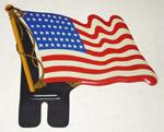 1970 United States metal flag, 48 stars