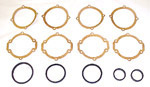 1937 Universal joint housing and bell gaskets, 1/2 or 3/4 ton