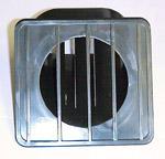 1969 Defroster outlet, black