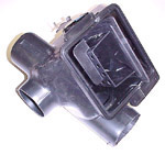 1970 Air conditioning and heater distribution valve assembly