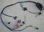1970 Main underdash with factory gauges wiring harness, Chevrolet
