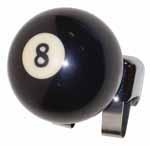 1937 Brodie knob, 8 ball