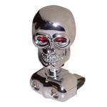1937 Brodie knob, chrome skull