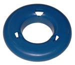 1969 Shaped spacer, blue