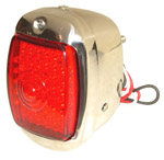 1940 Taillight assembly, LEDs with stainless steel body
