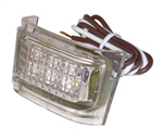 1940 License lamp assembly, rear
