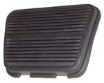 1970 Pedal pad for brake or clutch pedal, ribbed design