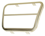 1970 Bezel for brake or clutch pedal, use with PPBCR