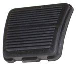 1970 Pedal pad for parking brake, ribbed design