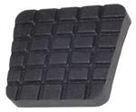 1970 Pedal pad for parking brake, waffle design