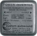 1937 Power inverter, GMC