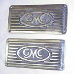 1964 Running board step plates, GMC