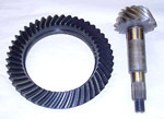 1970 Ring and pinion gear set, ratio 3.54:1