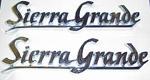 1969 Rear quarter emblems, Sierra Grande