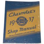 1937 Shop manual book, Chevrolet