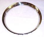 1970 Trim wheel rings for 15 inch wheels, stainless steel