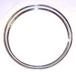 1970 Trim wheel rings for 16 inch wheels, stainless steel