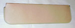 1961 Inside sunvisor pad, light tan