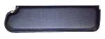 1970 Inside sunvisor pad, black