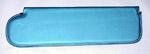 1970 Inside sunvisor pad, blue