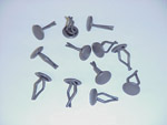 1954 Door panel fastening push-in clips, enough for both door panels