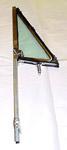 1970 Vent window assembly, chrome