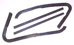 1964 Front wing vent rubber weather strip, does both doors