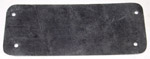 1937 Wiper panel cover, blank