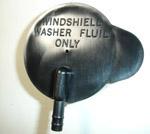 1970 Wiper washer cap, black