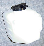 1970 Wiper washer reservoir (jar) and cap, reproduction