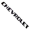 1970 Tailgate decals, black block letters
