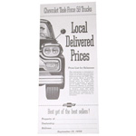 1959 Advertised Delivered Prices booklet