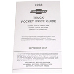 1968 Advertised Delivered Prices booklet