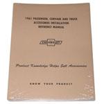 1961 Accessory installation manual