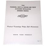 1962 Accessory installation manual