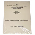 1963 Accessory installation manual