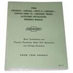 1964 Accessory installation manual